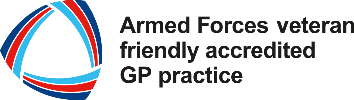 Armed forces accredited practice logo